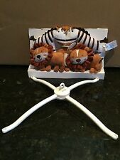 Summer Crib Mobile Jungle Buddies Top Only Zebra Lion Music Box Not Included