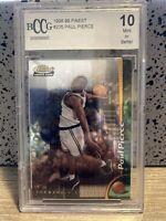 1998-99 Topps Finest Paul Pierce # 235 Rookie Card RC BCCG 10 MINT Celtics