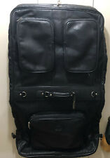 Claire Chase Classic Leather Garment Bag