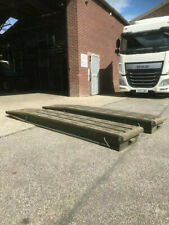 More details for aluminium ramps heavy duty, low loader ramps, ex army unused