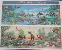 USA 1997 USPS MNH Sheet of 15 The World of Dinosaurs 32c Stamps