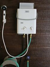 Portable Tankless Water Heater And Outdoor Shower Camping Beach Park Pool Hunt