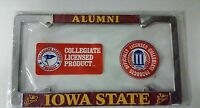 Iowa State Cyclones Alumni Metal License Plate Frame - Officially Licensed Thick