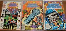SUPER POWERS 1-5 DC 1-6 DC 1-4 DC MINI COMIC SETS COMPLETE JACK KIRBY 1984 VF+