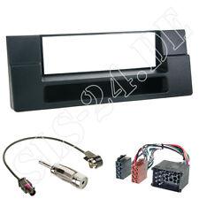 BMW 5er E39 X5 E53 ab95 1-DIN Blende Autoradio ISO Adapter RUNDPIN KOMPLETTSET