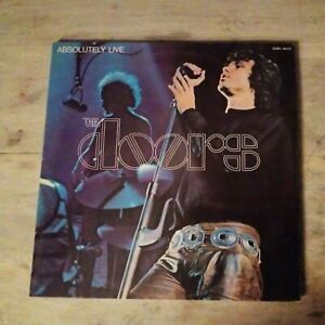 """THE DOORS """" ABSOLUTELY LIVE """" 33T 2x LP Reissue France 1976 62005 AB-CD ELEKTRA"""