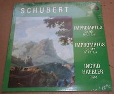 Ingrid Haebler SCHUBERT Impromptus Op.90 & 142 - Vox STPL 58940 SEALED