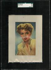 SGC 3.5  LANA TURNER 1953 Kwatta Chocolates Film Stars Card EXTRA LARGE CARD