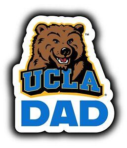 UCLA Bruins Dad Decal-Die Cut Proud College Dad Sticker Set