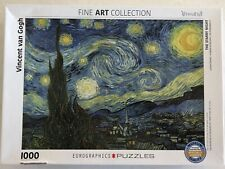 The Starry Night Van Gogh 1000 piece puzzle