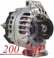 NEW 200 HIGH AMP 2009-2007 Hummer H3  ALTERNATOR 3.7L Generator 11148
