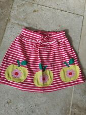 New boden Apple Applique Jersey Skirt Age 4-5