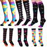 Women Men Compression Socks Best Medical Nursing Travel and Flight Socks S-XL