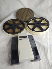 Regular 8 Film Splicer And 2 Reels (C10)