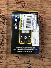 DeLorme inReach SE Two-Way Satellite Communicator with GPS Brand New