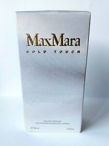 NEW & SEALED MAX MARA GOLD TOUCH FOR WOMAN 90 ML EDP SPRAY, DISCONTINUED