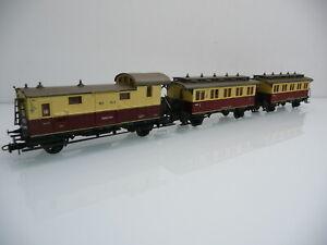 Roco H0 1:87 Kompletter Personenzug der WEG 3-teilig Württembergische Eisenbahn