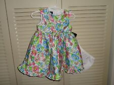 Holiday Editions by Rare editions baby girl floral dress, size 18 mo. New w/tags