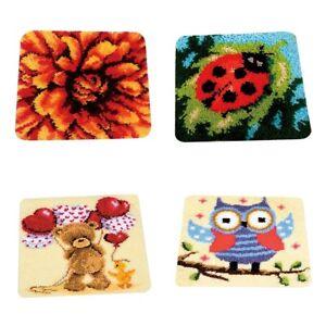 Riegelhaken Kits Teppiche DIY Craft