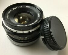 Vintage SLR Canon Wide Angle FL 28mm F3.5 Lens~~ Free Shipping