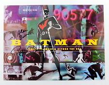 1 Autographed BATMAN BEYOND Lobby Card 1999 Bruce Timm Art Warner Bros Gallery