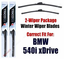 WINTER Wipers 2-pack fits 2017+ BMW 540i xDrive 35260/190