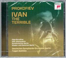 Tugan SOKHIEV: PROKOFIEV Ivan the Terrible Olga BORODINA Ildar ABDRAZAKOV CD Neu
