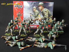 1/32 AIRFIX WW2 PROFESSIONALLY PAINTED AMERICAN INFANTRY BOXED X 14 FULL SET