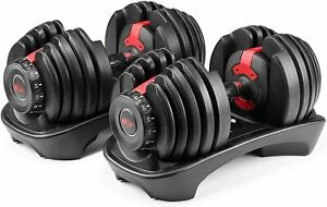 BOWFLEX SelectTech 552 Two Adjustable Dumbbells PAIR NEW SEALED FEDEX OVERNIGHT