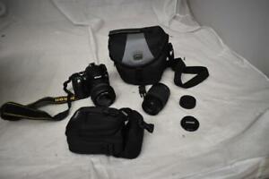 Nikon D40 Digital SRL Camera With Lens Bundle