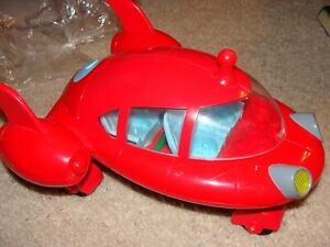 DISNEY LITTLE EINSTEINS PAT PAT ROCKET WORKS FISHER PRICE RED NO FIGURES