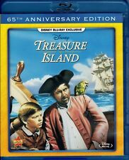 Classic Disney Pirate Adventure Film Long John Silver in Treasure Island Blu-ray