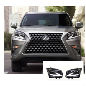 For Lexus GX460 LED Headlights LED DRL 10-20 Replace OEM Headlight Sequential