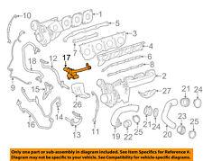 Mercedes MERCEDES-BENZ OEM SL63 AMG Turbocharger Turbo-Cooler Line 1572000151