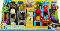 Fisher-Price Imaginext DC Super Friends, Super Hero Flight City - Damaged Box