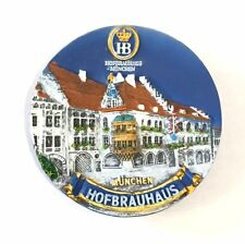 HB Hofbräuhaus Beer Brewery München Munich Germany Souvenir Resin Magnet