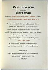H. C. Artmann Von denen Husaren und anderen Seil-Tänzern, H. C. Artmann,