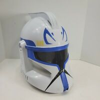 2008 Star Wars Captain Rex Clone Storm Trooper Electronic Talking Helmet WORKS