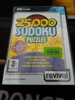 25,000 Sudoku Puzzles PC, Supplied by Gaming Squad uk Express retro a1 ☆☆☆☆☆☆☆☆☆