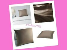 """Ikea Gaspa Queen Pillow Cases, Brown Color 26 x 26"""" - 702.305.16 (set of 2)"""