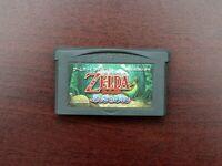 Game Boy Advance Legend of Zelda Fushigi No Boushi The Minish Cap Japan GBA game