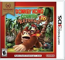 Donkey Kong Country Returns 3D [Nintendo 3DS, Diddy Kong, 70 Levels, Retro] NEW