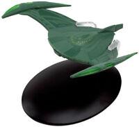 #27 Star Trek Romulan Bird Prey DieCast Metal Ship-UK/Eaglemoss w Mag-FREE S&H