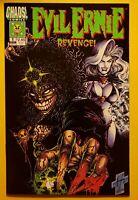 EVIL ERNIE REVENGE 1 2 3 !!!Lady Death( Lot of 3)Glow in dark cover!! VFNM