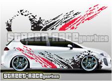 Seat side 018 mud splatter rally graphics stickers decals Leon Ibiza Cupra FR