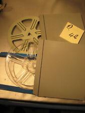2 Stück 8 mm Film.Leerspulen in Filmdose  Stocko für 120 Meter D.42.Film Reels