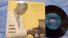 NAT KING COLE - CAPUCCINA + 3 - VERY RARE SPANISH EP - CAPITOL EAP 1-20.375   EX