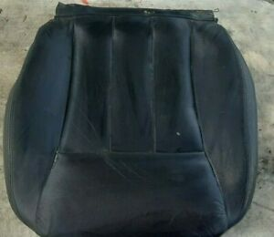 94-96 Infiniti Q45 Driver Left Front Seat Bottom Cushion Black Leather Has Wear