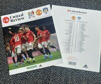 Manchester United v Colchester United Carabao Cup 18/12/19!FREE UK POSTAGE!!!