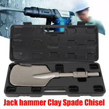 JackHammer Clay Spade Cutter Chisel Metal D Handle Spade Shovel Pointed Blade